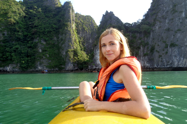 Kayaking - Ha Long Bay